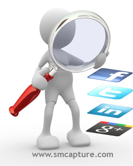 Social Media Search eDiscovery find